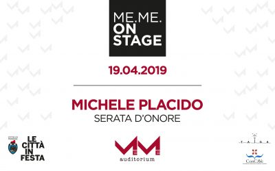 ME.ME. ON STAGE – 19.04 – MICHELE PLACIDO